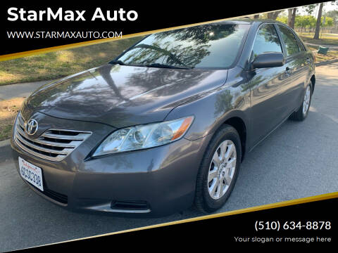 2008 Toyota Camry Hybrid for sale at StarMax Auto in Fremont CA