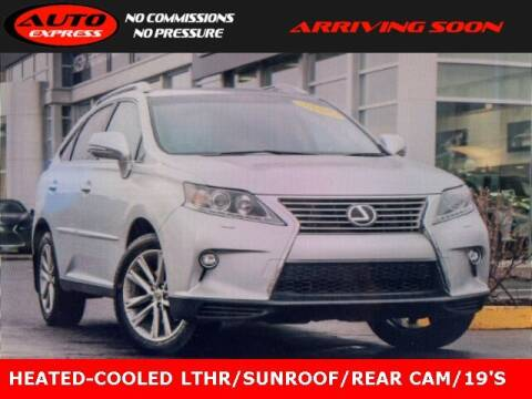 2015 Lexus RX 350 for sale at Auto Express in Lafayette IN