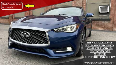 2018 Infiniti Q60 for sale at Rocky's Auto Sales in Worcester MA
