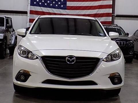 2016 Mazda MAZDA3 for sale at Texas Motor Sport in Houston TX