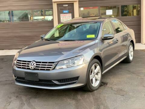 2012 Volkswagen Passat for sale at Eagle Auto Sales LLC in Holbrook MA