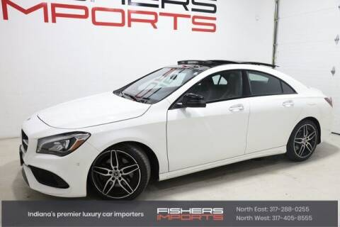 2019 Mercedes-Benz CLA for sale at Fishers Imports in Fishers IN
