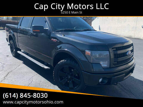 2013 Ford F-150 for sale at Cap City Motors LLC in Columbus OH