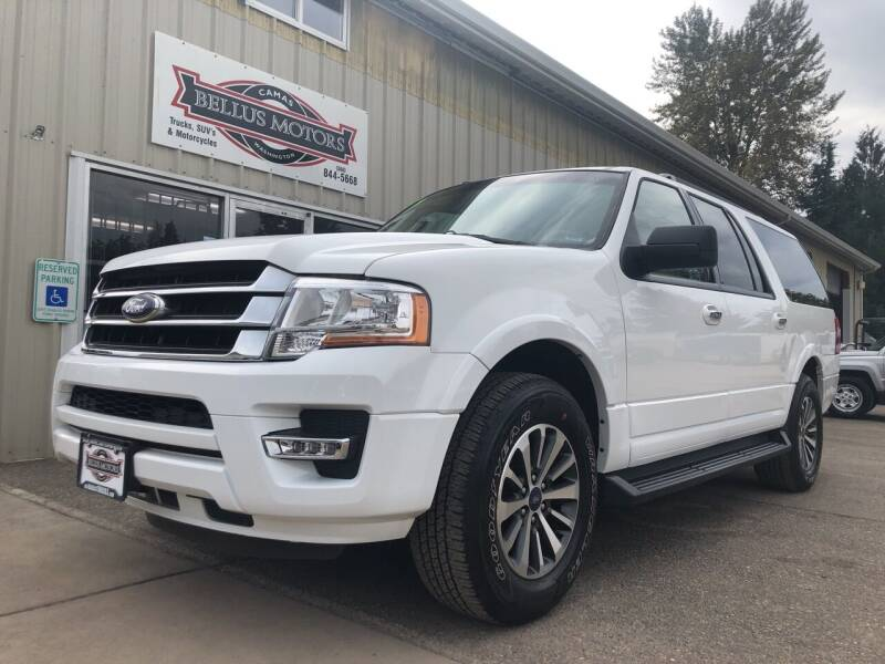 2017 Ford Expedition EL for sale at Bellus Motors LLC in Camas WA