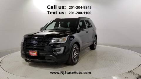 2017 Ford Explorer for sale at NJ State Auto Used Cars in Jersey City NJ
