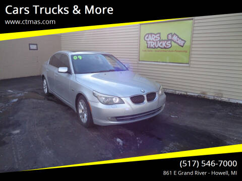 2009 BMW 5 Series for sale at Cars Trucks & More in Howell MI