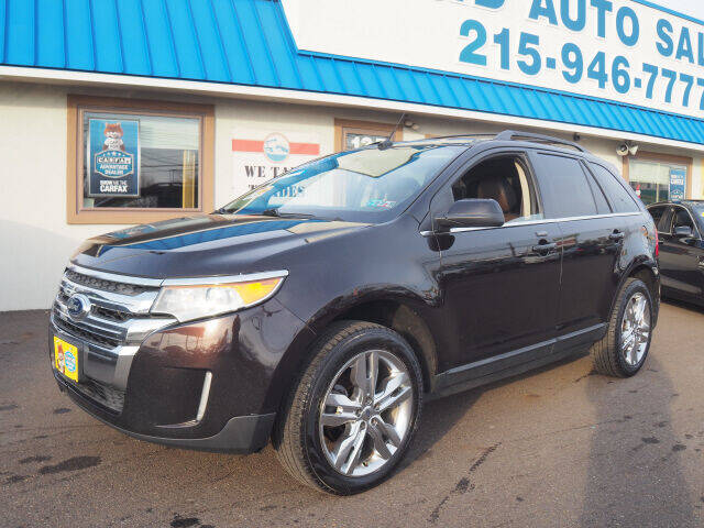 2013 Ford Edge for sale at B & D Auto Sales Inc. in Fairless Hills PA