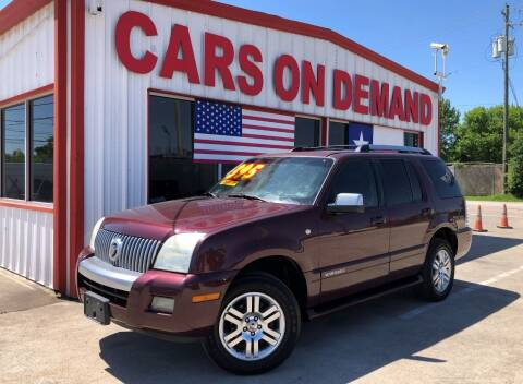 2007 Mercury Mountaineer for sale at Cars On Demand 3 in Pasadena TX