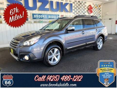 2014 Subaru Outback for sale at BROOKS BIDDLE AUTOMOTIVE in Bothell WA