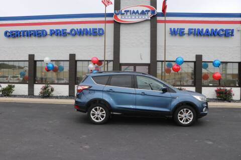 2018 Ford Escape for sale at Ultimate Auto Deals DBA Hernandez Auto Connection in Fort Wayne IN
