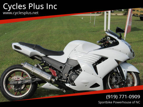 2008 Kawasaki Ninja ZX-14R for sale at Cycles Plus Inc in Garner NC