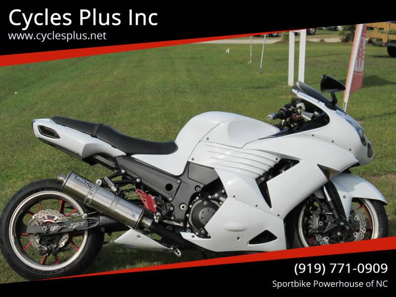 2008 Kawasaki Ninja ZX-14R for sale at Cycles Plus Inc in Garner NC