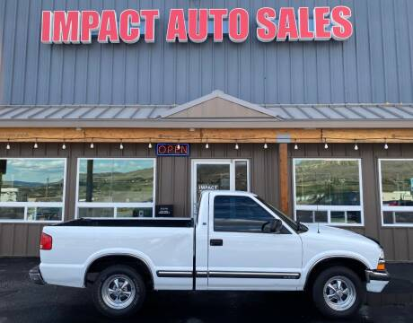 2000 Chevrolet S-10 for sale at Impact Auto Sales in Wenatchee WA