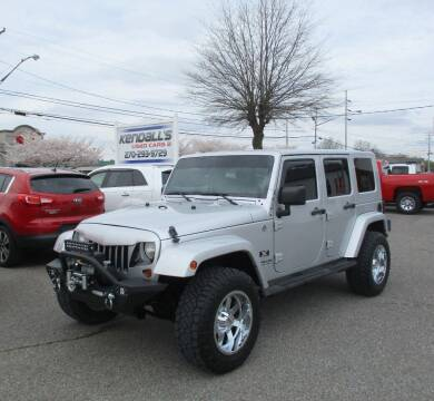 2008 Jeep Wrangler Unlimited for sale at Kendall's Used Cars 2 in Murray KY