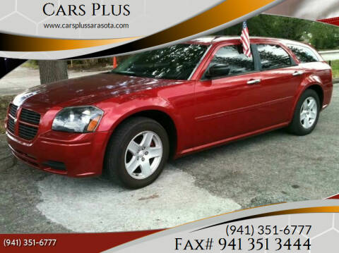 2005 Dodge Magnum for sale at Cars Plus in Sarasota FL