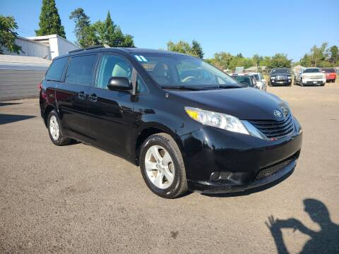 2011 Toyota Sienna for sale at Universal Auto Sales in Salem OR