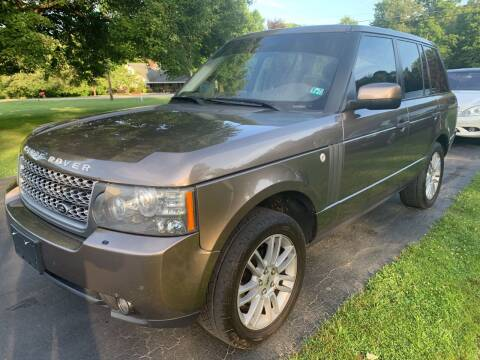 2010 Land Rover Range Rover for sale at Trocci's Auto Sales in West Pittsburg PA