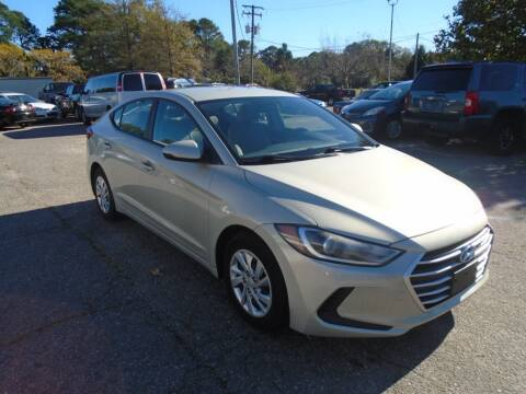 2017 Hyundai Elantra for sale at Premium Auto Brokers in Virginia Beach VA