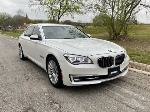 2013 BMW 7 Series for sale at Texas Auto Trade Center in San Antonio TX