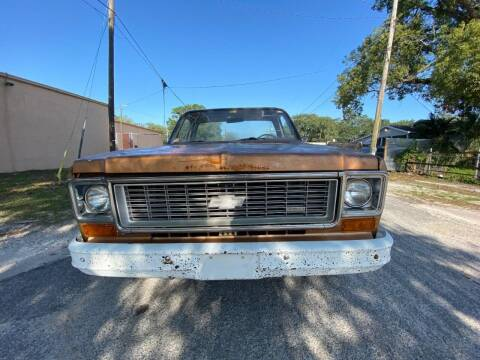 1974 Chevrolet C/K 10 Series for sale at OVE Car Trader Corp in Tampa FL