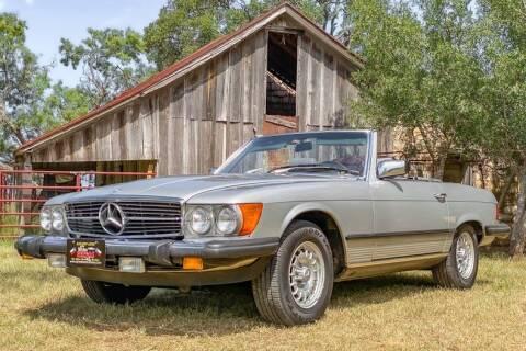 1982 Mercedes-Benz 380-Class for sale at STREET DREAMS TEXAS in Fredericksburg TX