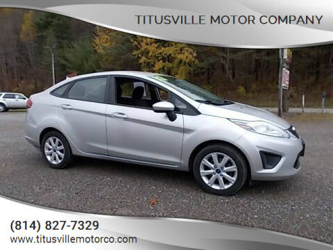 2012 Ford Fiesta for sale at Titusville Motor Company in Titusville PA
