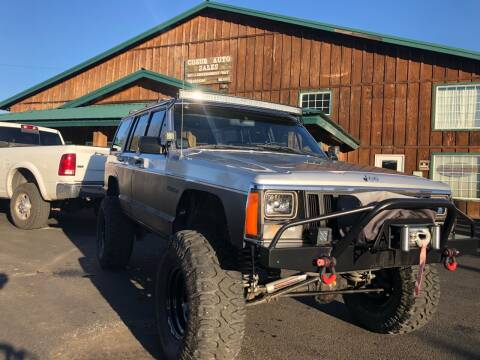 1986 Jeep Cherokee for sale at Coeur Auto Sales in Hayden ID