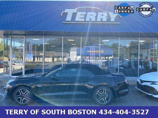 2019 Ford Mustang for sale at Terry of South Boston in South Boston VA