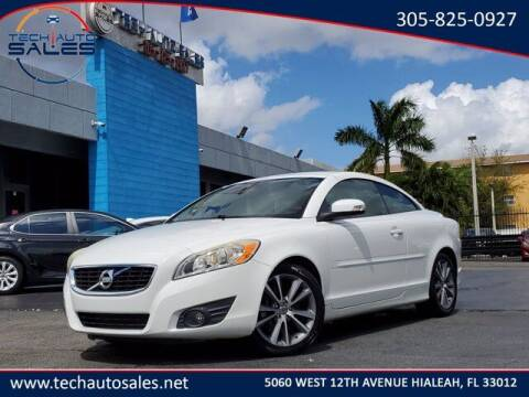 2011 Volvo C70 for sale at Tech Auto Sales in Hialeah FL
