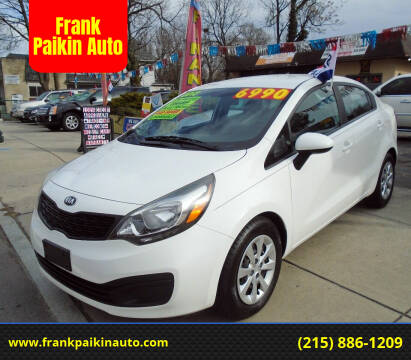 2013 Kia Rio for sale at Frank Paikin Auto in Glenside PA