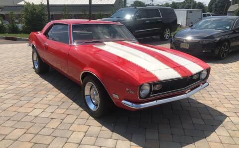 1968 Chevrolet Camaro for sale at Shedlock Motor Cars LLC in Warren NJ