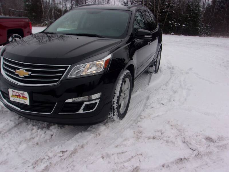 2017 Chevrolet Traverse for sale at Warga Auto and Truck Center in Phillips WI