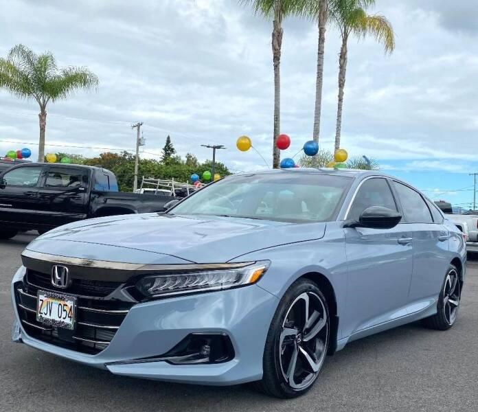 2021 Honda Accord for sale at PONO'S USED CARS in Hilo HI