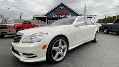2013 Mercedes-Benz S-Class for sale at LUNA CAR CENTER in San Antonio TX