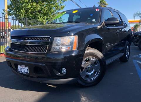 2012 Chevrolet Tahoe for sale at LUGO AUTO GROUP in Sacramento CA