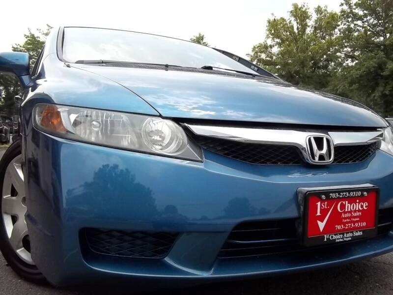 2010 Honda Civic for sale at 1st Choice Auto Sales in Fairfax VA
