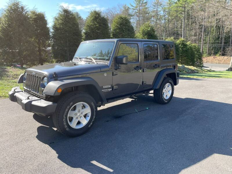 2018 Jeep Wrangler JK Unlimited for sale at DON'S AUTO SALES & SERVICE in Belchertown MA