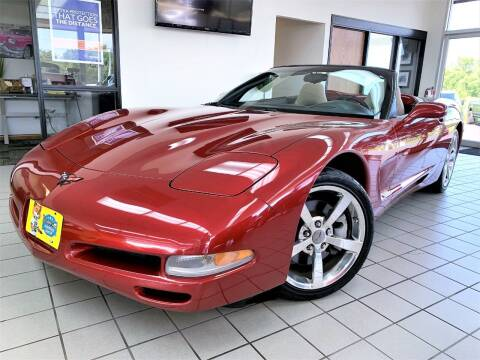 1999 Chevrolet Corvette for sale at SAINT CHARLES MOTORCARS in Saint Charles IL