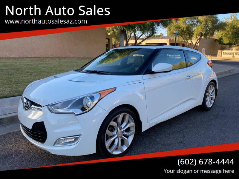 2013 Hyundai Veloster for sale at North Auto Sales in Phoenix AZ
