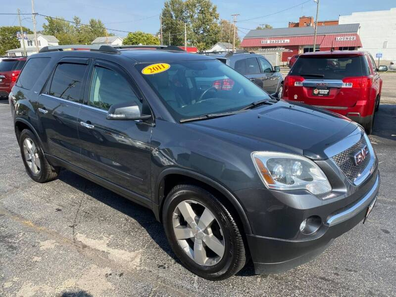 2011 GMC Acadia for sale at Huggins Auto Sales in Ottawa OH