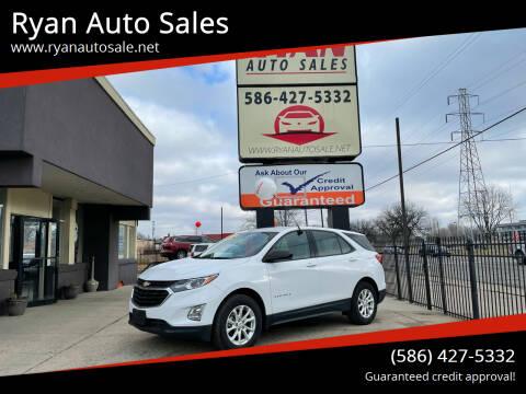 2018 Chevrolet Equinox for sale at Ryan Auto Sales in Warren MI