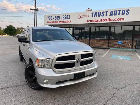 2015 RAM Ram Pickup 1500 for sale at Trust Autos, LLC in Decatur GA