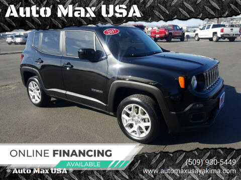 2017 Jeep Renegade for sale at Auto Max USA in Yakima WA