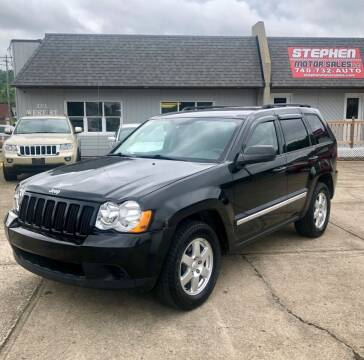 2010 Jeep Grand Cherokee for sale at Stephen Motor Sales LLC in Caldwell OH