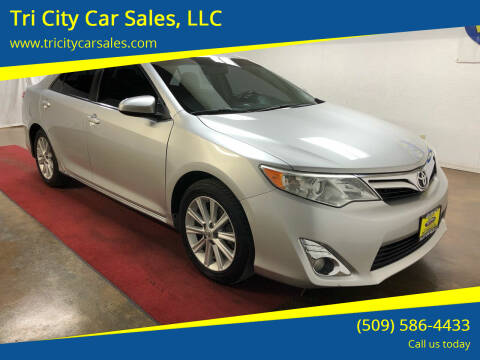 2012 Toyota Camry for sale at Tri City Car Sales, LLC in Kennewick WA