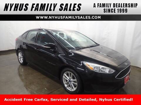 2016 Ford Focus for sale at Nyhus Family Sales in Perham MN