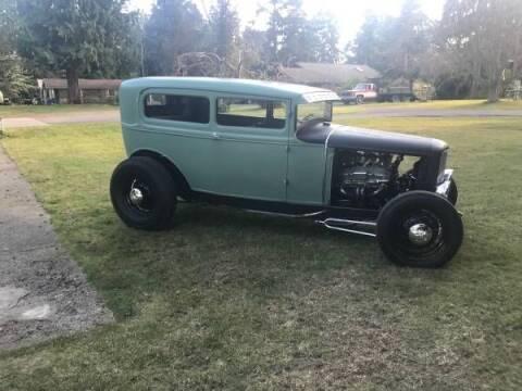 1931 Ford Tudor for sale at Classic Car Deals in Cadillac MI
