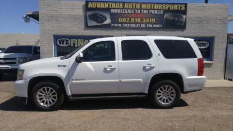 2009 Chevrolet Tahoe for sale at Advantage Motorsports Plus in Phoenix AZ
