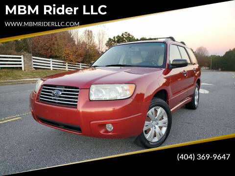 2008 Subaru Forester for sale at MBM Rider LLC in Alpharetta GA