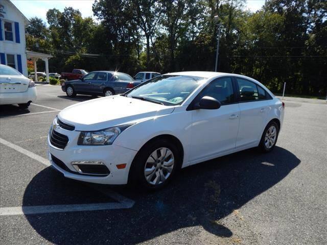 2016 Chevrolet Cruze Limited for sale at Elite Motors INC in Joppa MD